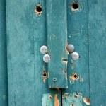 Blue wood texture — Stock Photo #2534512