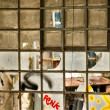 Factory windows - Stockfoto