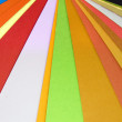 Paper colors — Stock Photo