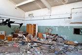 被遗弃的工厂 — 图库照片