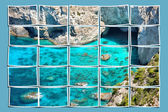 Plaj panorama — Stok fotoğraf