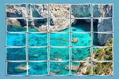 Strand panorama — Stockfoto