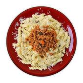 Bolognese sauce — Stock Photo