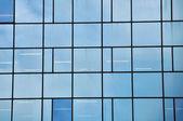 Facciata in vetro — Foto Stock