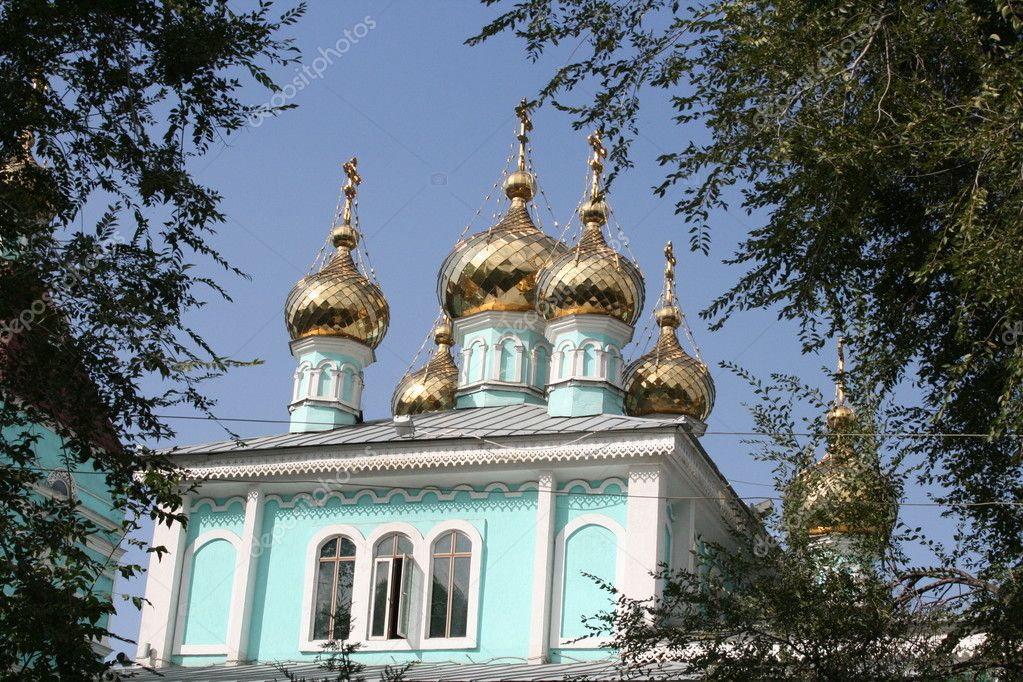 Russian church — Stock Photo #1573634