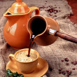 Tea and Coffee - Stock Photo