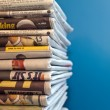 Stock Photo: Newspapers