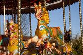 Carousel horse — Stock Photo