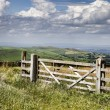 Farm gate - Stock Photo