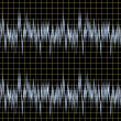 Sound wave forms — Stock Photo