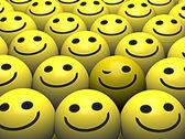 Winking smiley — Stock Photo
