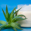 Aloe Vera Cream — Stock Photo