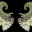 Angel wings - Stock Photo