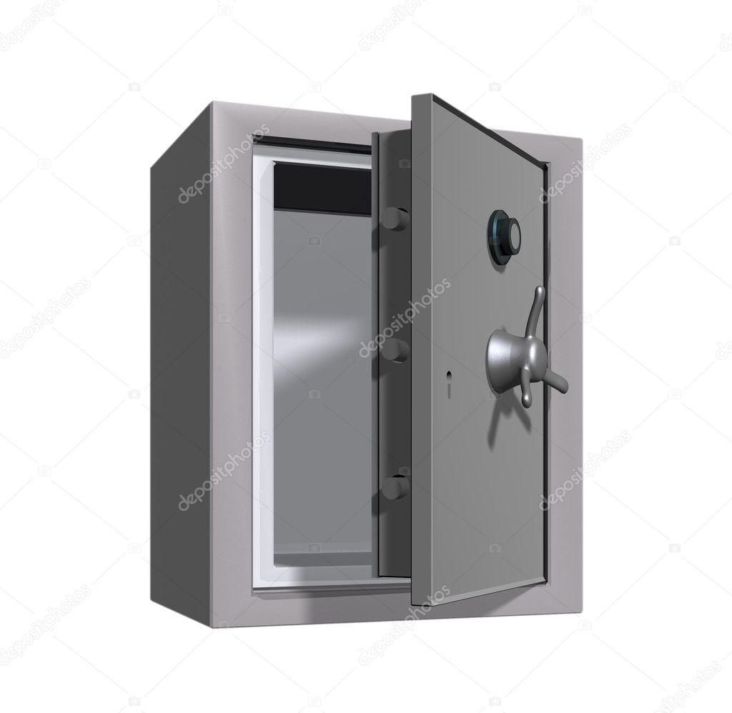 An open safe or vault. — Stock Photo #1696550