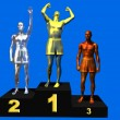 Постер, плакат: Winners podium