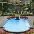 garden pool — Stock Photo