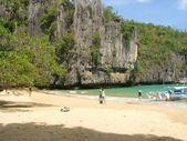 Podzemní řeka národní park palawan — Stock fotografie