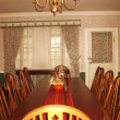 Stock Photo: Dining area