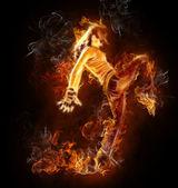 Flamy symbol — Stock Photo