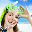 Royalty-Free Stock Photo: Snorkel