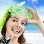 Snorkel — Stock Photo