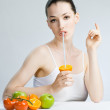 Eating healthy food — Stock Photo #1716343