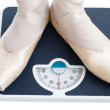 Bathroom scales — Stock Photo #1724431