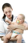 Pediatra — Zdjęcie stockowe