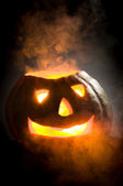 Pumpkin head — Stockfoto