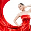 Long dress — Stock Photo #1788406