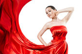 Long dress — Stock Photo