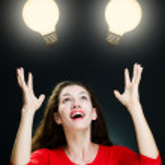 bombilla iluminada — Foto de Stock