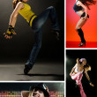 Modern dances - Stock Photo