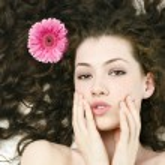 Цветок девушк — Стоковое фото #1824081