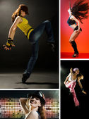Modern dances — Stock Photo