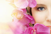 Beauty eye — Stock Photo