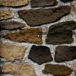 Structure of a stone wall — Stockfoto