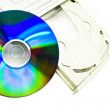 CD-ROM and CD — Stock Photo #1588975