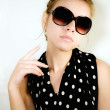 Portrait of girl in sunglasses — Stock Photo