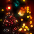 Christmas celebratory structure — Stock Photo #1589519