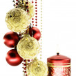 Christmas-tree decorations — Stock Photo #1589671