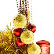 Christmas-tree decorations — Stock Photo #1589687