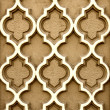 Wall with antique bas-relief - Stock Photo