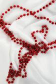 Red beads — Stock Photo