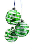 Christmas-tree decorations isolated on a — Stockfoto