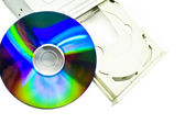 CD-ROM and CD — Stock Photo