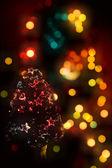 Christmas celebratory structure — Stock Photo