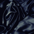 Dark blue silk — Stock Photo