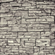 Texture of old stone wall close up - Stock Photo