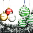 图库照片: Christmas-tree decorations